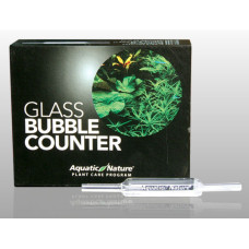 Aquatic Nature CO2 Glass Bubble Counter.