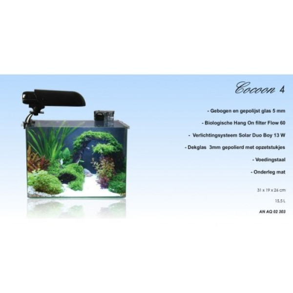 Aquatic Nature Cocoon 4 Leeg (15.5L)