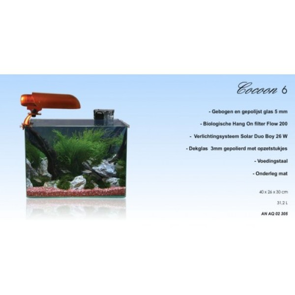 Aquatic Nature Cocoon 6 Leeg (31.2L)