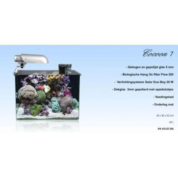 Aquatic Nature Cocoon 7 Leeg (43.2L)