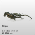 Aquatic Nature Decor Finger No 02