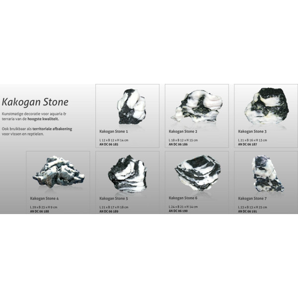 Aquatic Nature Decor Kakogan Stone 6