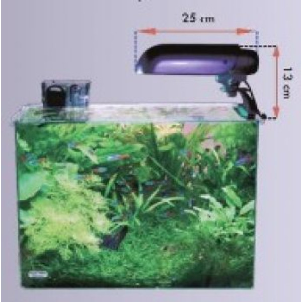 Aquatic Nature Solar Duo-Boy 26W Zwart
