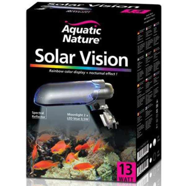 Aquatic Nature Solar Vision 13W Silver