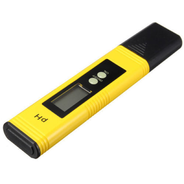 Digitale pH Meter PH 1-14 Geel