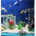 Aquarium duiker met schatkist zwart.