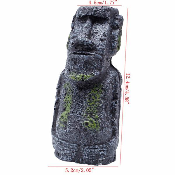 Aquarium paaseiland standbeeld Moai