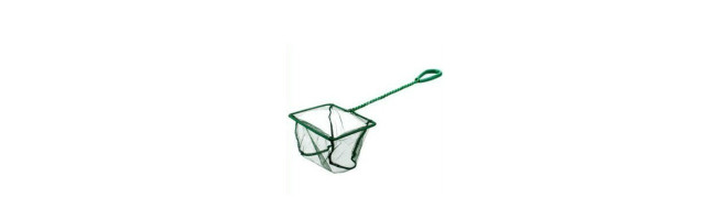 Visnet / Schepnet 20cm fijn groen