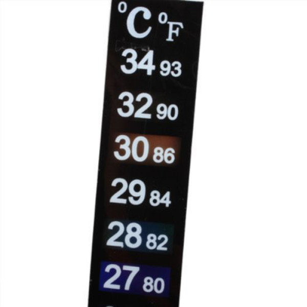 Dual Thermometer Temperatuur Sticker