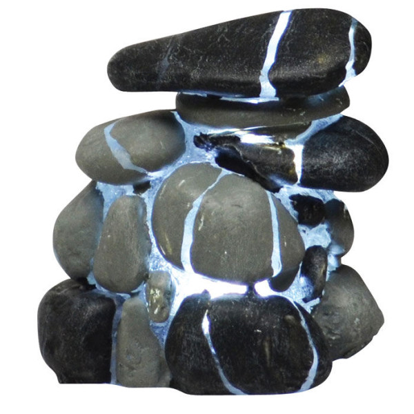 Hydor H2Show Earth Gems LED River Rock