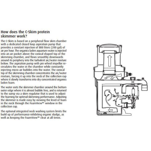 Red Sea C-Skim 1800 Protein Skimmer