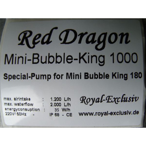 Royal Exclusiv Bubble King Mini 180 VS12 intern